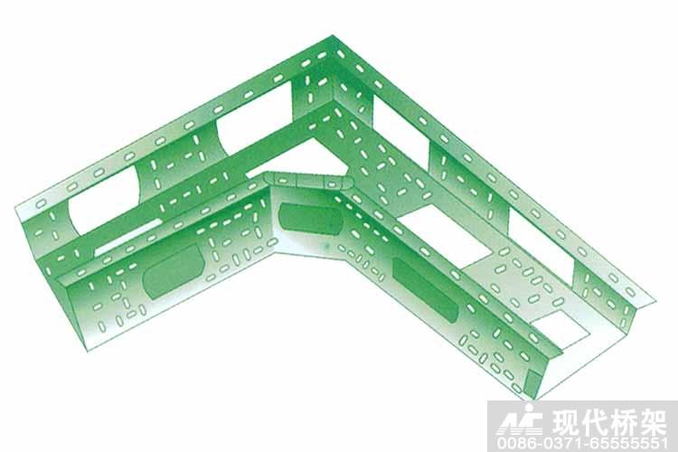 组合式桥架-水平弯通