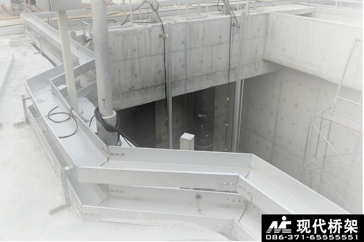不锈钢桥架陈三桥污水处理厂应用案例