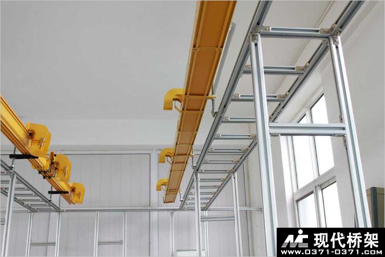 铝合金走线架安装示意图